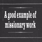 missionary work 1