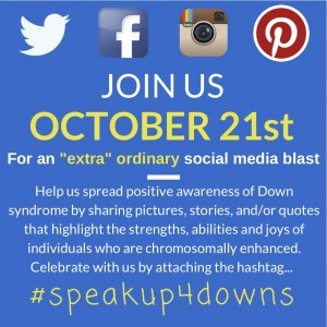#speakup4downs image